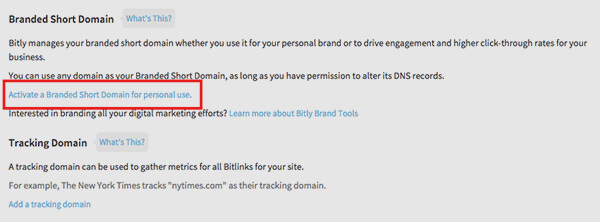 Bitly advanced settings - How to produce Custom, Trackable, Short URL's For all of your WordPress Posts and Pages