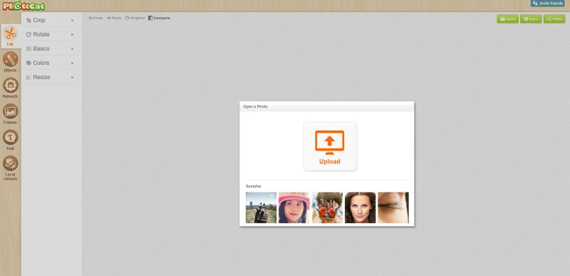 photocat - Create online photos of any software, in free